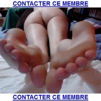 Plan q avec une coquine pour fétichiste des pieds