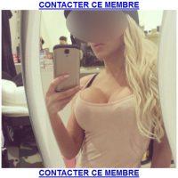 Blonde sexy pour une rencontre coquine discrète