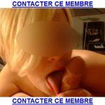 Blondinette veut jouer avec un homme de Reims